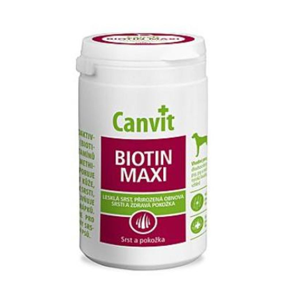 CANVIT Biotin Maxi pre psov 230 g