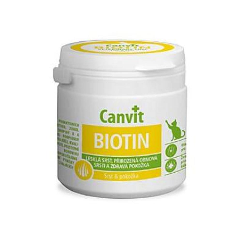 CANVIT Biotin pre mačky 100 g