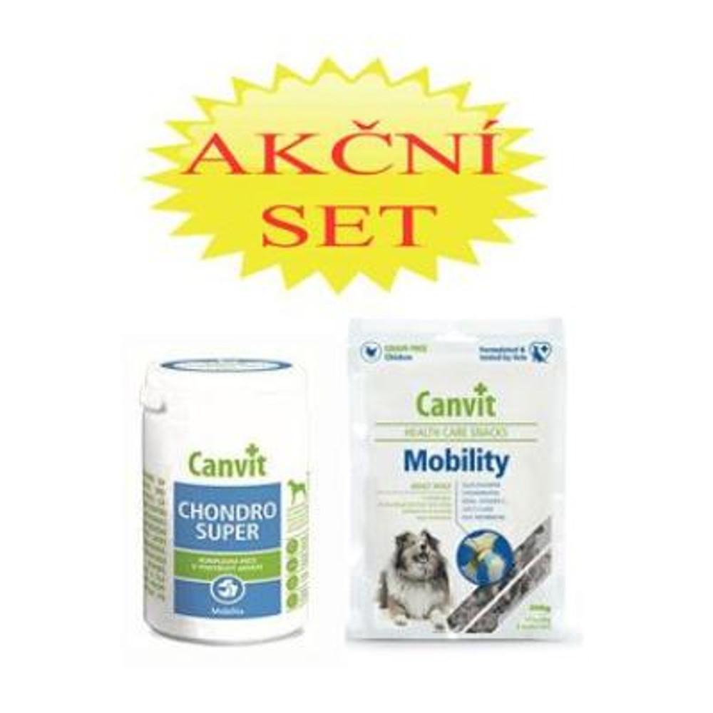 CANVIT Chondro Super pre psov 230 g + Canvit Snack Mobilit