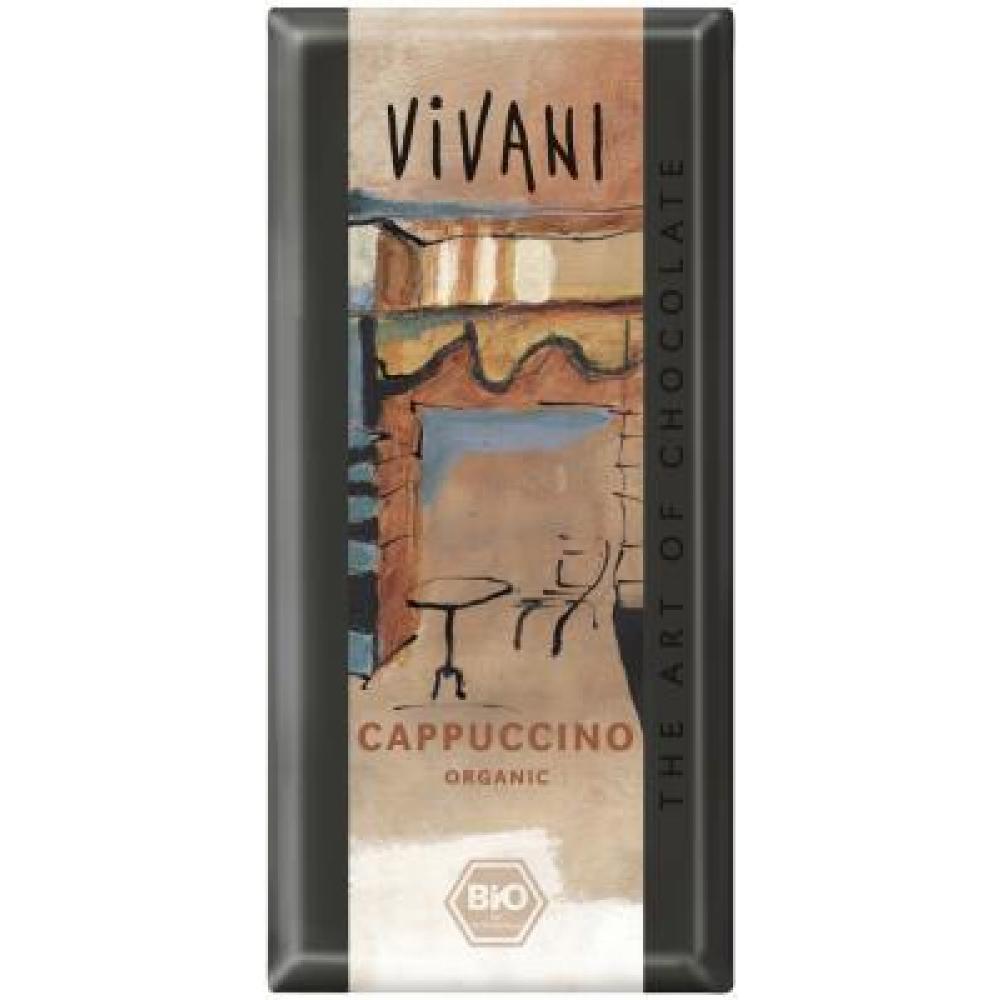 Cappuccino čokoláda VIVANI 100g-BIO
