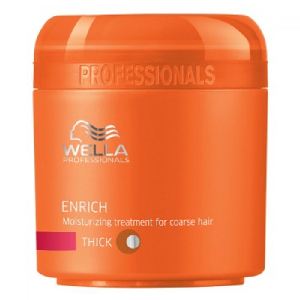 Wella Enrich Mask Thick Hair 150ml (Maska pre silné vlasy)