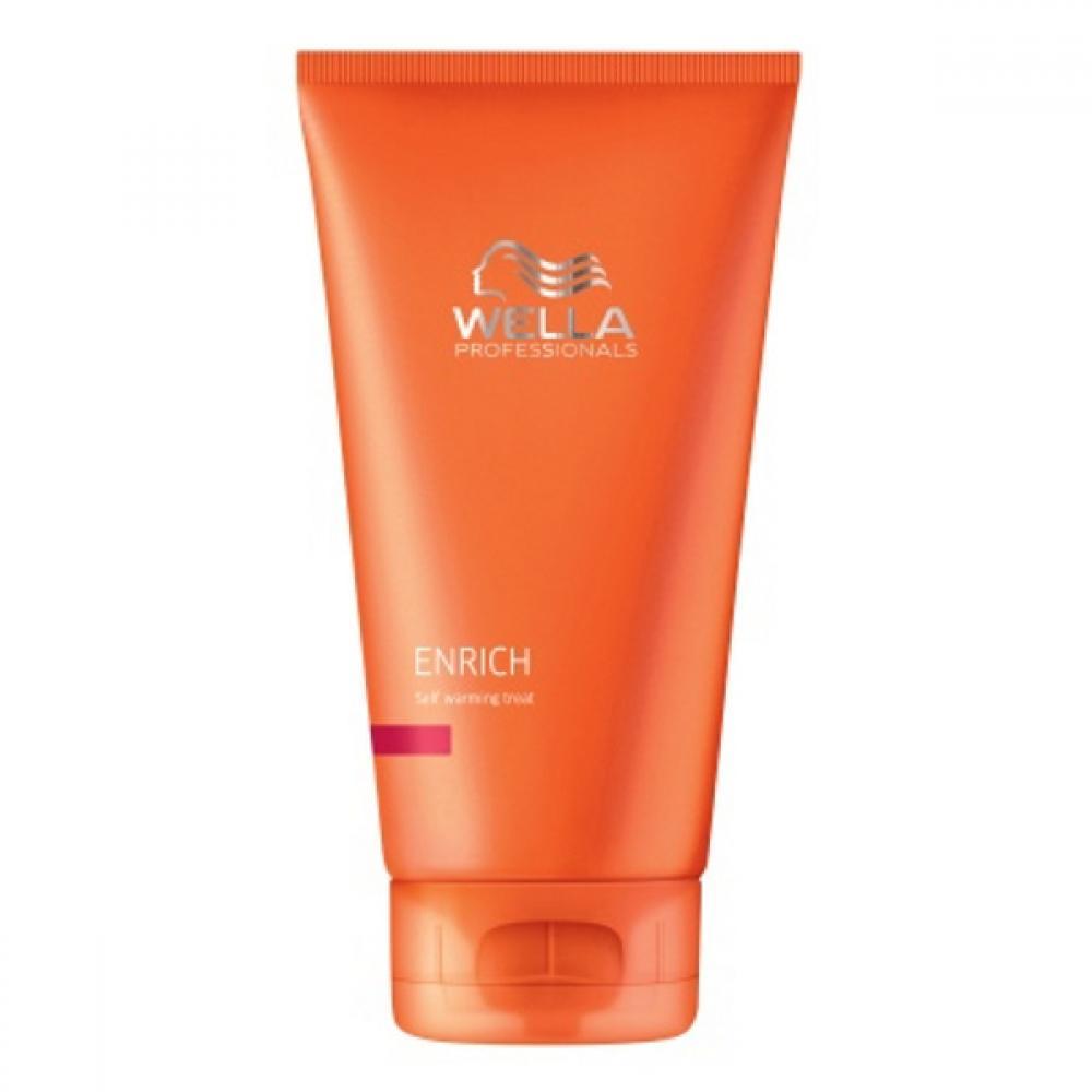 Wella Enrich Self Warming Treat 150ml (Samozahrievacia regeneračná maska)