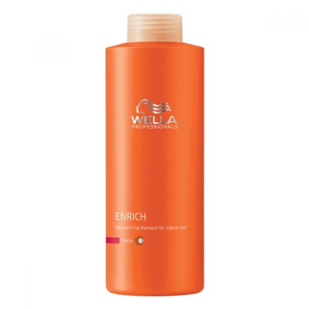 Wella Enrich Shampoo Thick Hair 1000ml (Šampon pro silné vlasy) - recenzie 7241381547d