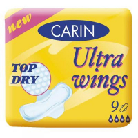 Carin Ultra wings Top Dry 9 kusov