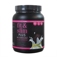 CELIUS Fit & Slim plus Čokoláda/Cherry 2x208 g