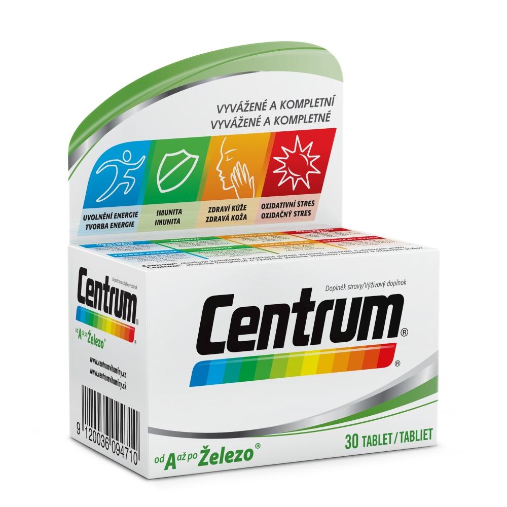 CENTRUM Od A až po Železo 30 tabliet