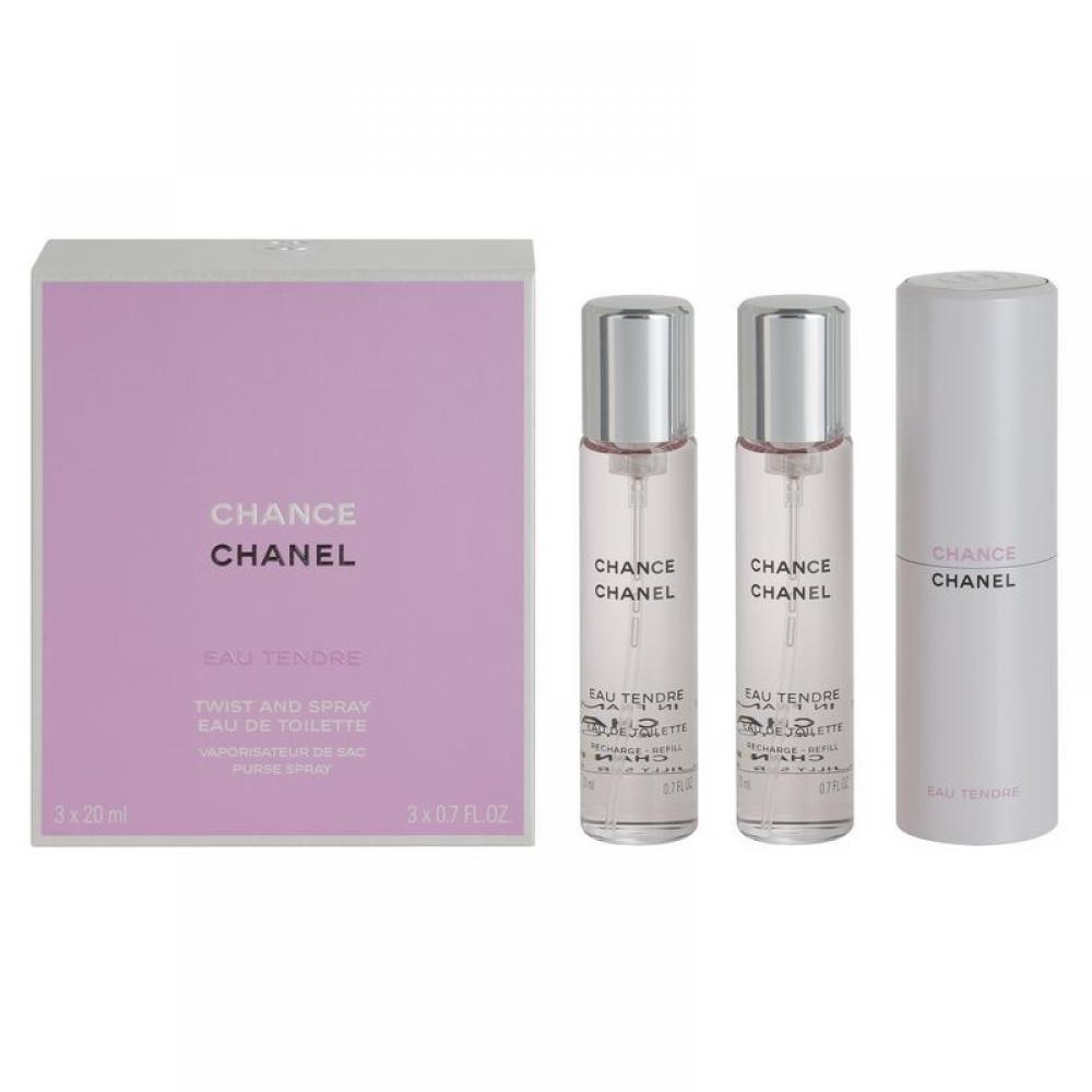 Chanel Chance Eau Tendre 3x20ml (náplně)