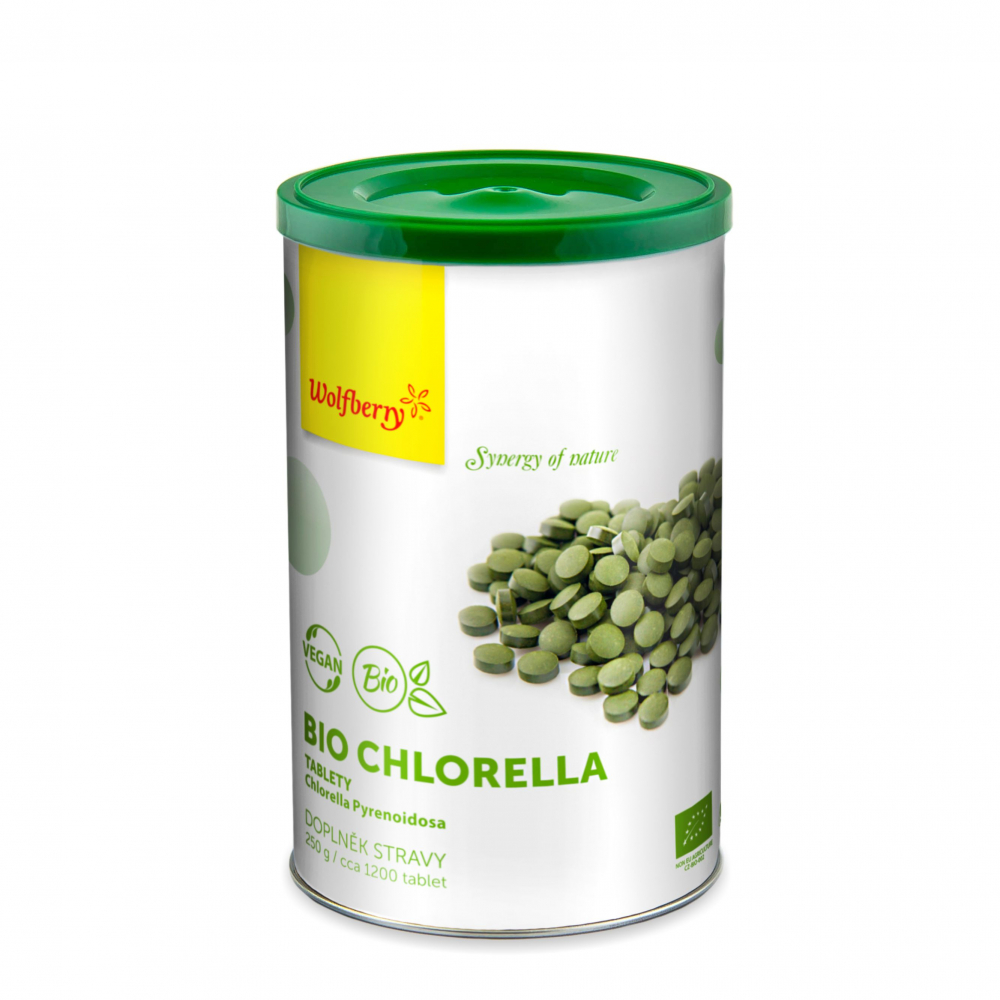 WOLFBERRY Chlorella BIO 1000 tabliet