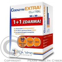 SIMPLY YOU Coenzym Extra classic 30 mg 30 + 30 tabliet