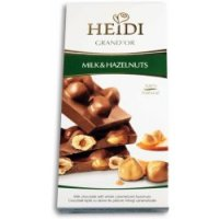 Čokoláda Grand'or whole hazelnuts milk 100g