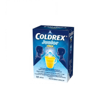 COLDREX Junior Citrón plo por (vrec.papier/PE/Al/PE) 1x10 ks