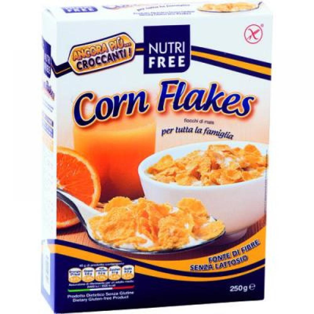 NUTRIFREE Corn Flakes, kukuričné vločky bezlepkové 250 g