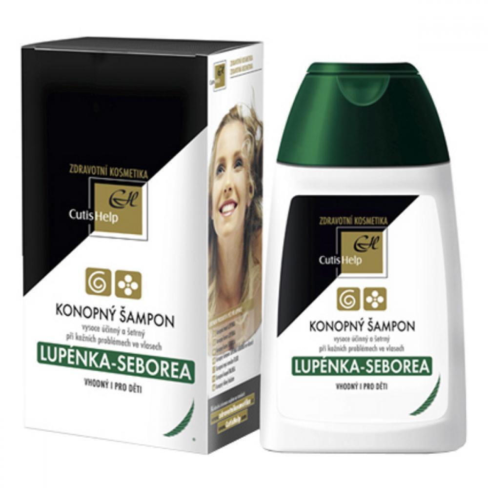 CutisHelp Konopný šampón LUPIENKA SEBOREA 200 ml