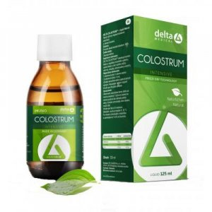 DELTA Colostrum intensive - natural 125 ml