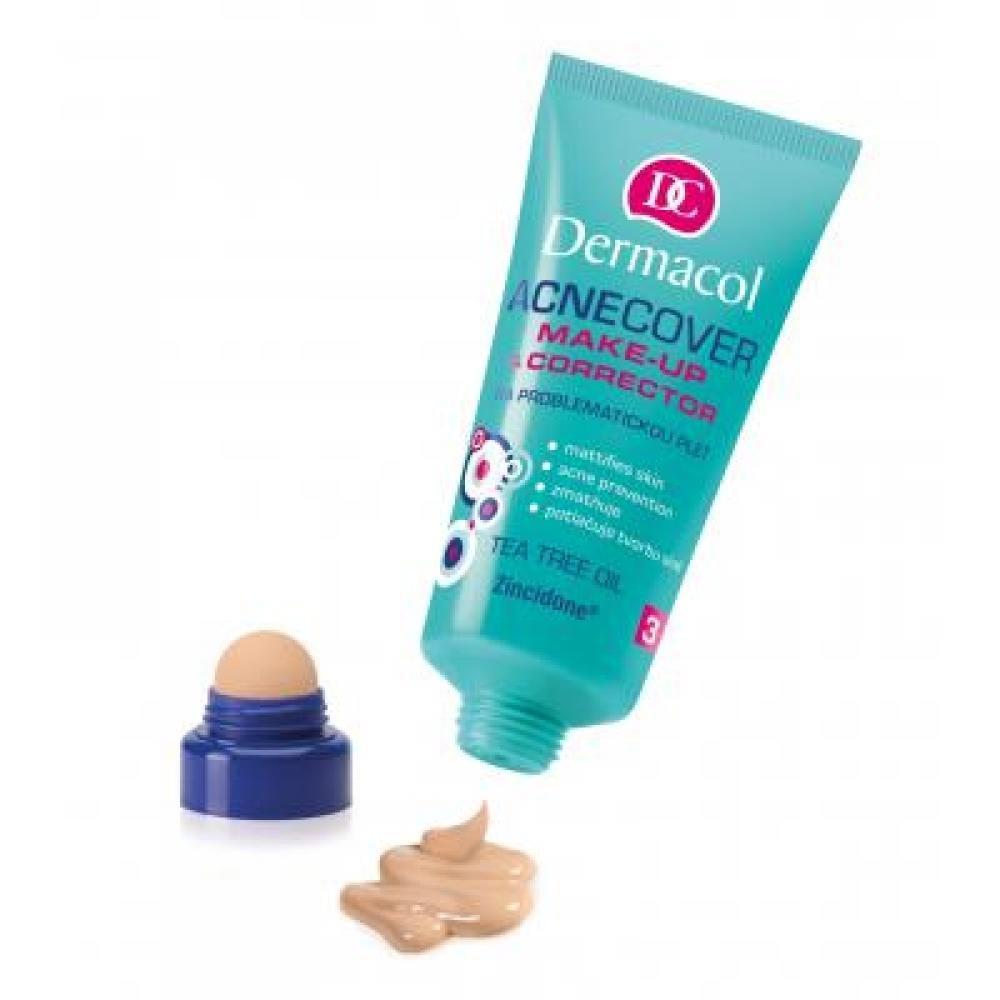 Dermacol Acnecover Make-Up & Corrector 03 30ml (Odstín 03)