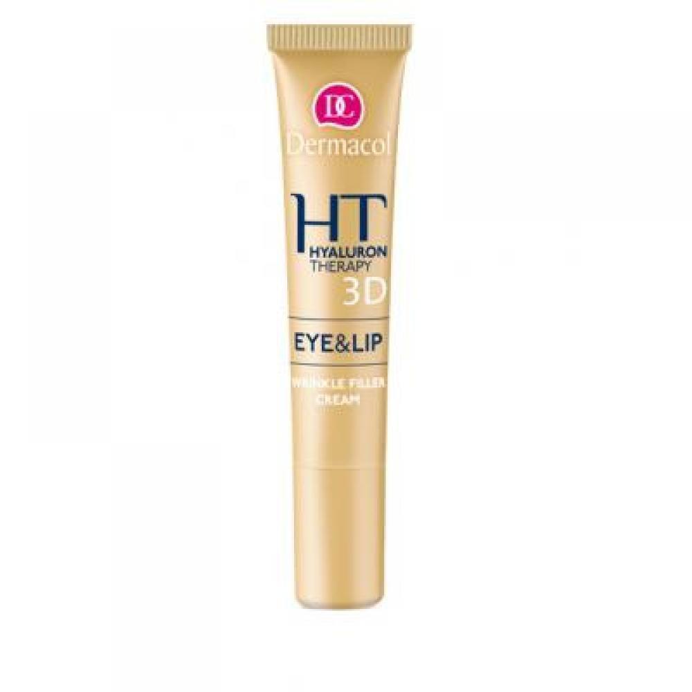 Dermacol Hyaluron Therapy 3D Eye & Lip Cream 15ml (Remodelačný krém na oči a pery)