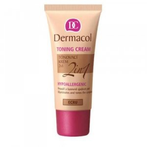 Dermacol Toning Cream 2in1-natural 30ml (Všechny typy pleti)
