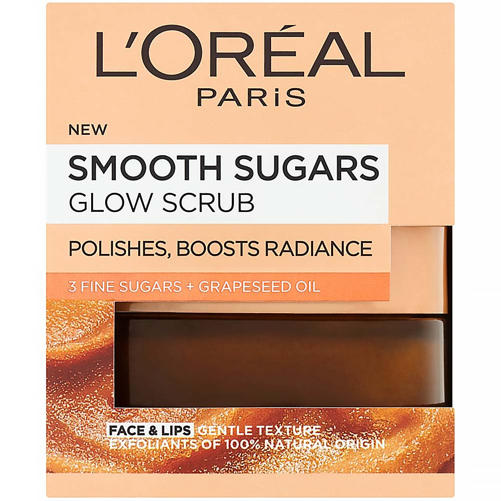 L'ORÉAL Paris Jemný rozjasňujúci cukrový scrub 50 ml