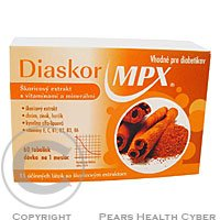 Diaskor mpx 60 tabliet