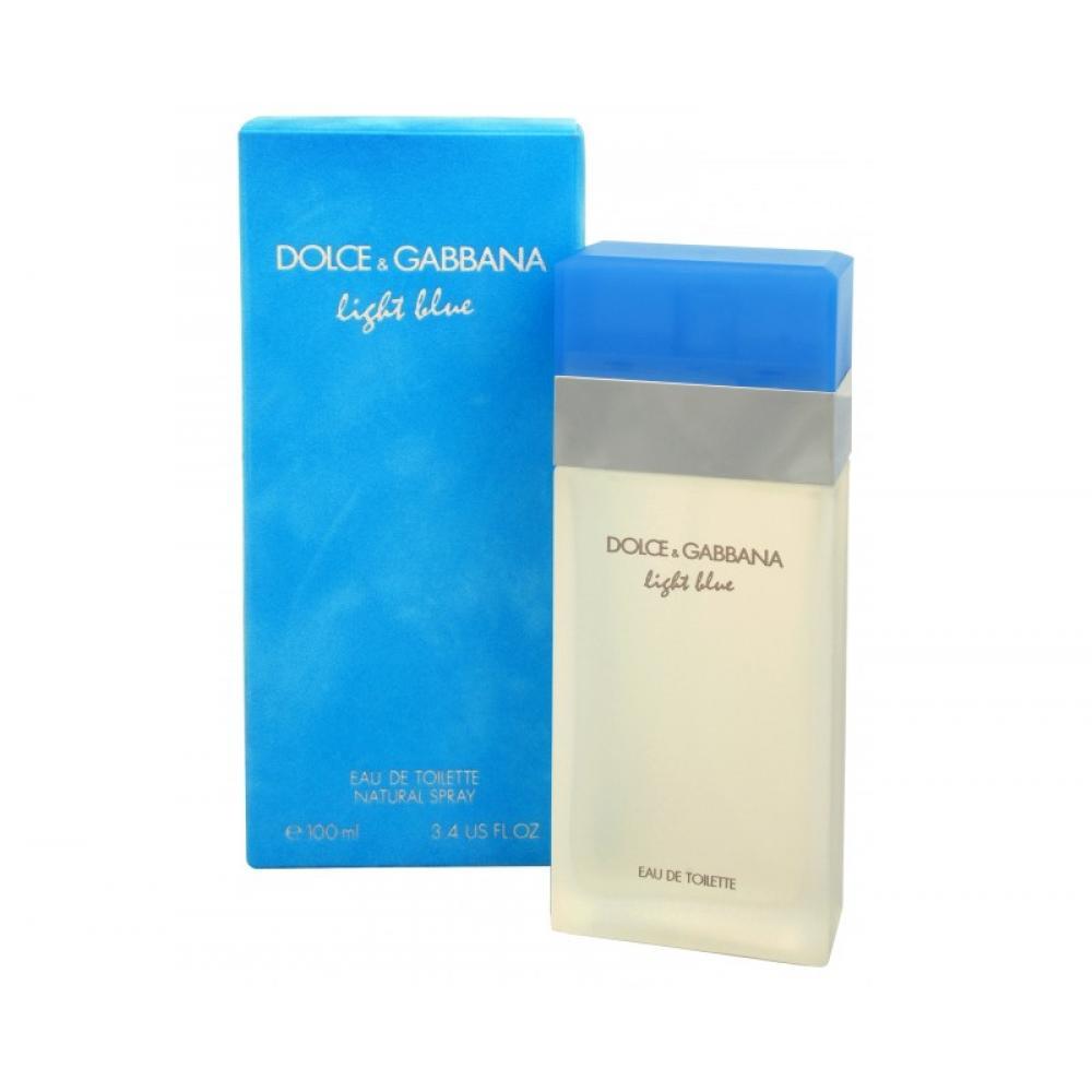 Dolce & Gabbana Light Blue toaletná voda 100ml Edt 100ml + 100ml Telový krém + 100ml sprchový gel