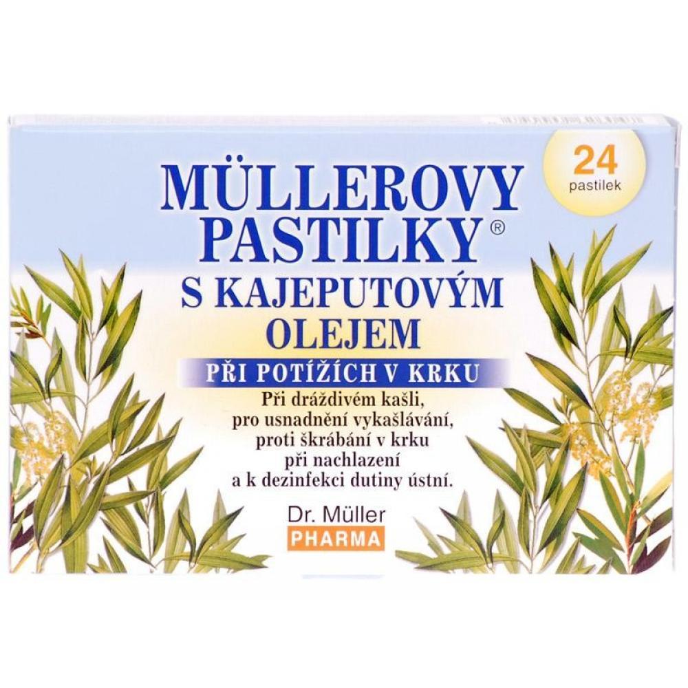 Dr Müller Pastilky s kajeputovým olejom 24 pastiliek