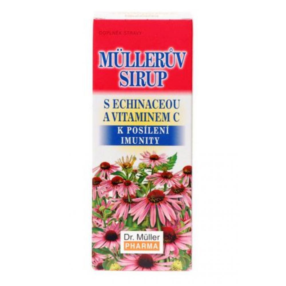 Müllerov sirup s Echinaceou a Vitamínom C sirup 320 g