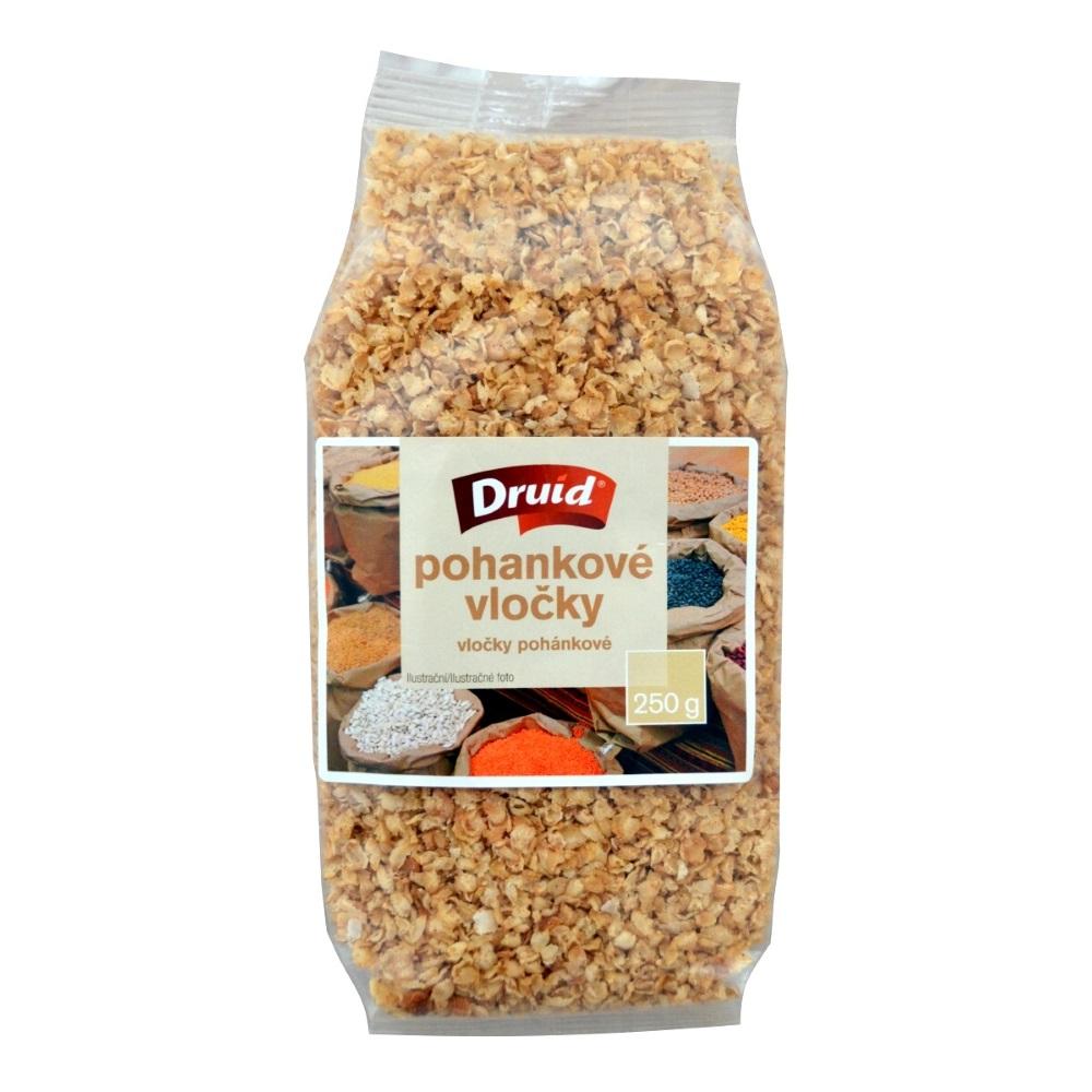 DRUID Pohánkové vločky neochutené jemné 250 g