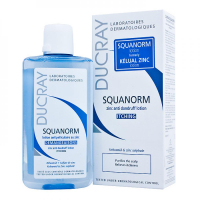 DUCRAY Squanorm Roztok proti lupinám 200 ml