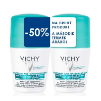 Duopack Vichy Anti-traces roll-on (nezanecháva stopy ani škrvny) 2 x 50 ml