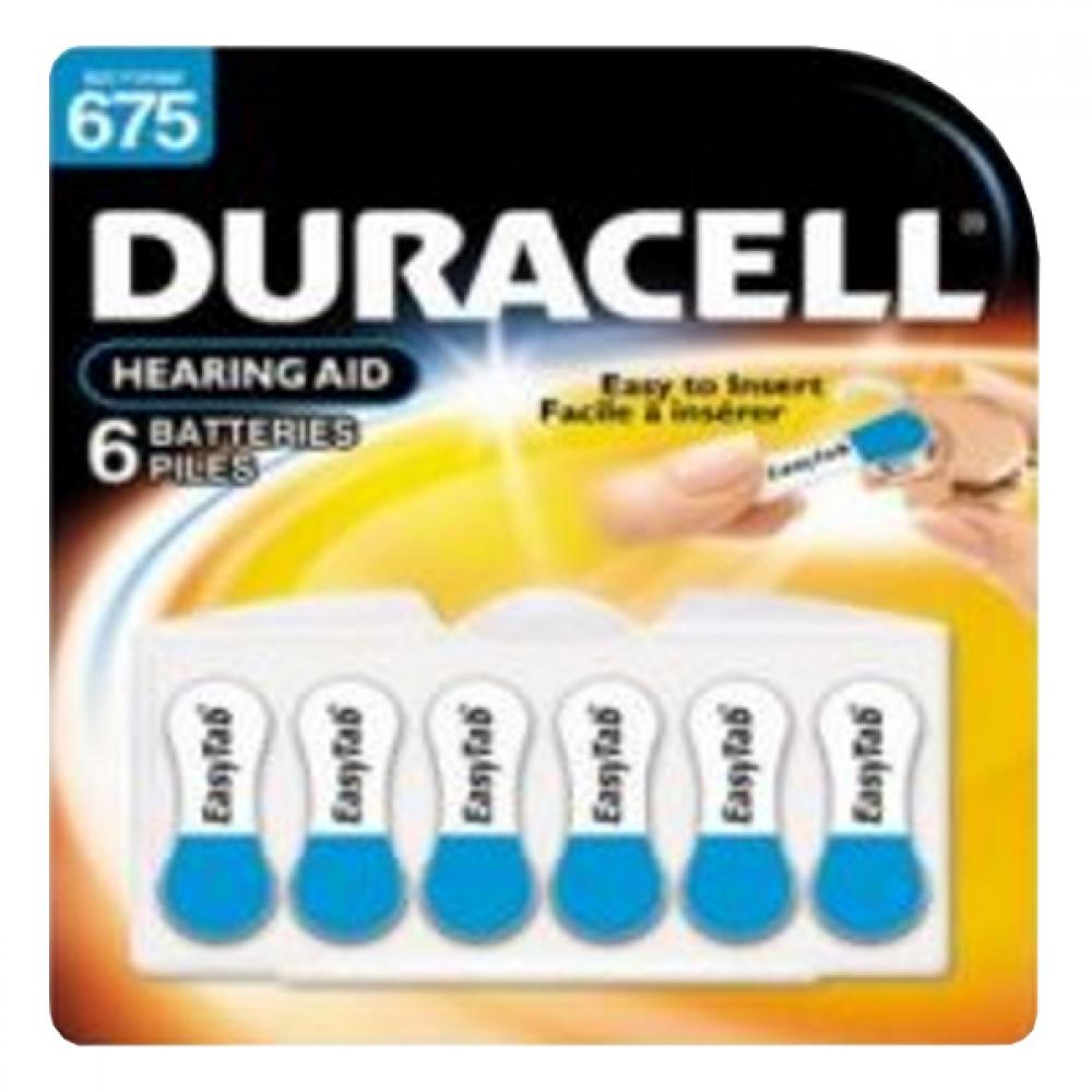Duracell Hearing Aid DA 675 Easytab 6 ks