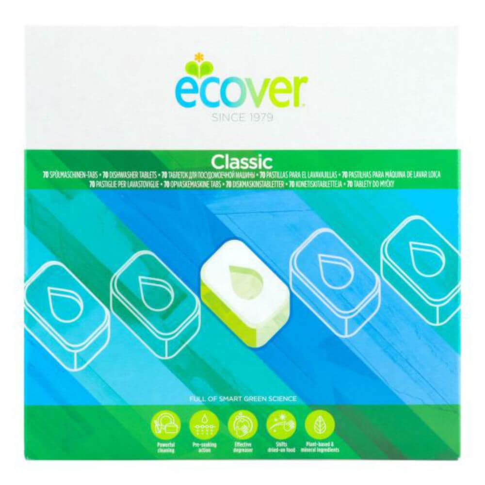 ECOVER Tablety do umývačky XL balenie 1,4 kg 70 kusov