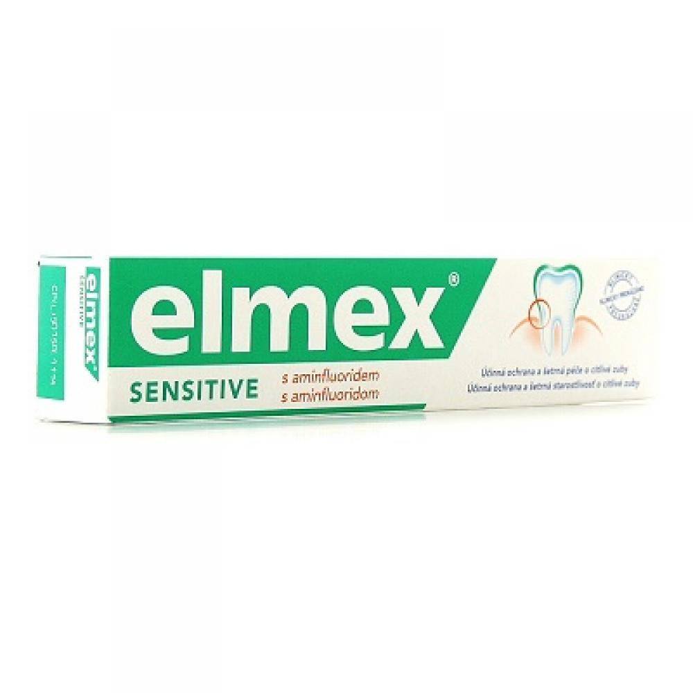 ELMEX Sensitive zubná pasta 75 ml: Výprodej