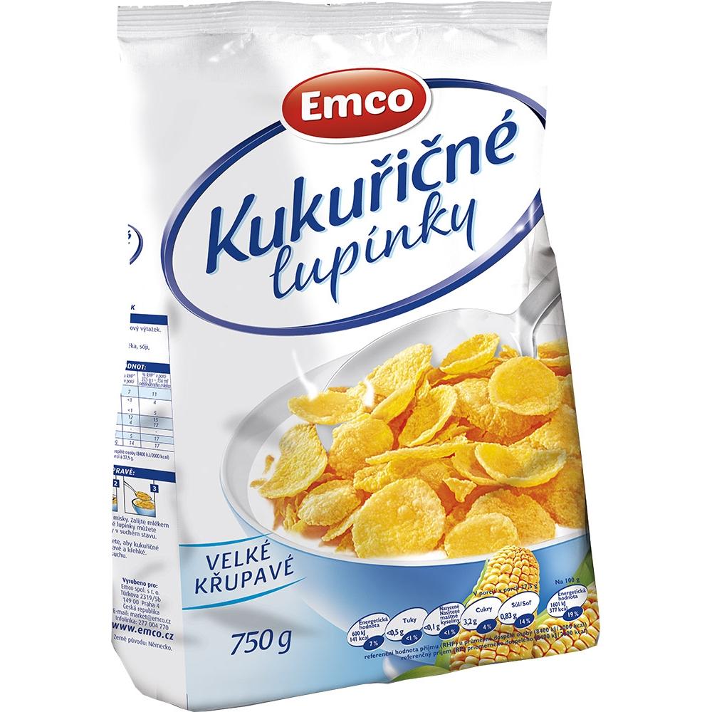 EMCO Kukuričné lupienky 750 g