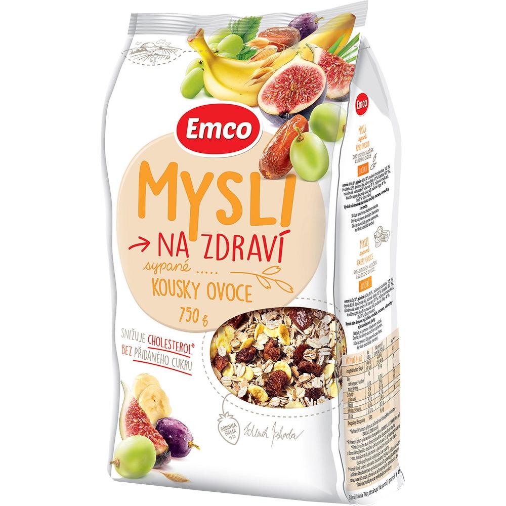 EMCO Mysli sypané S kúskami ovocia 750 g
