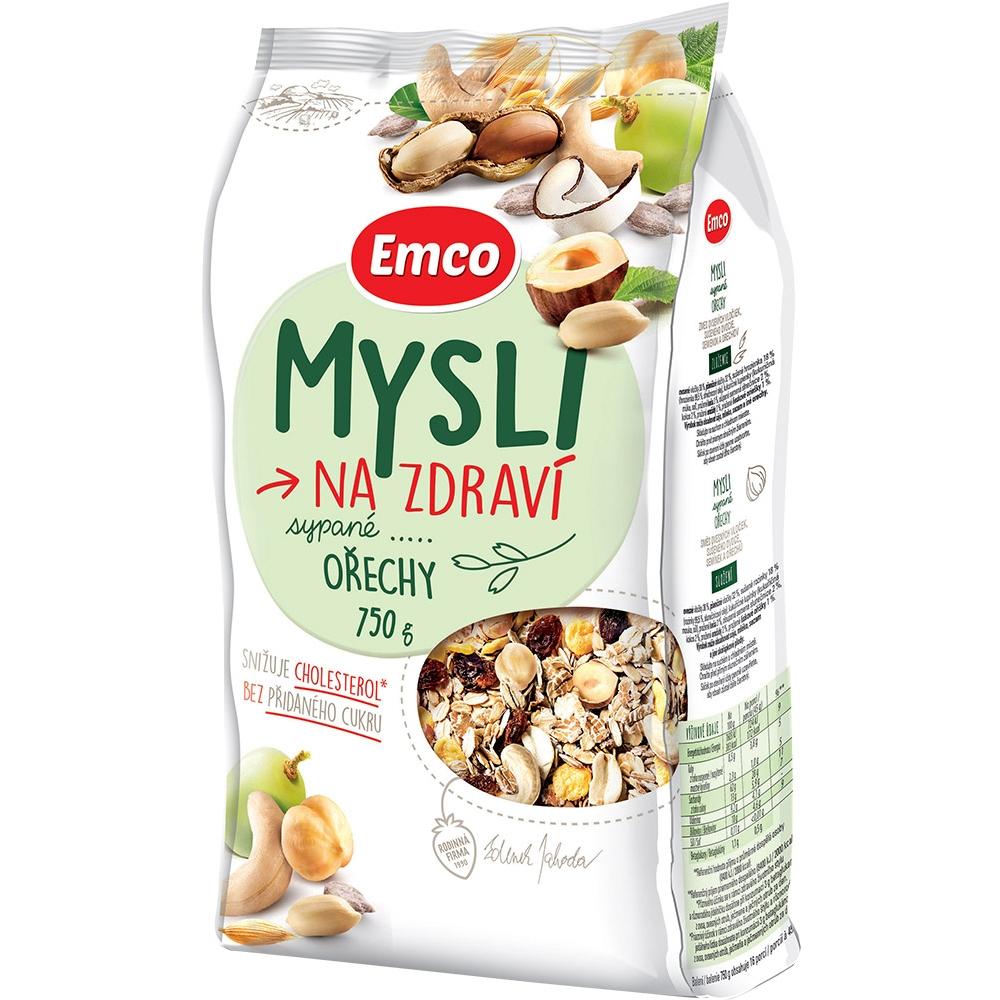 EMCO Mysli sypané S orechmi 750 g