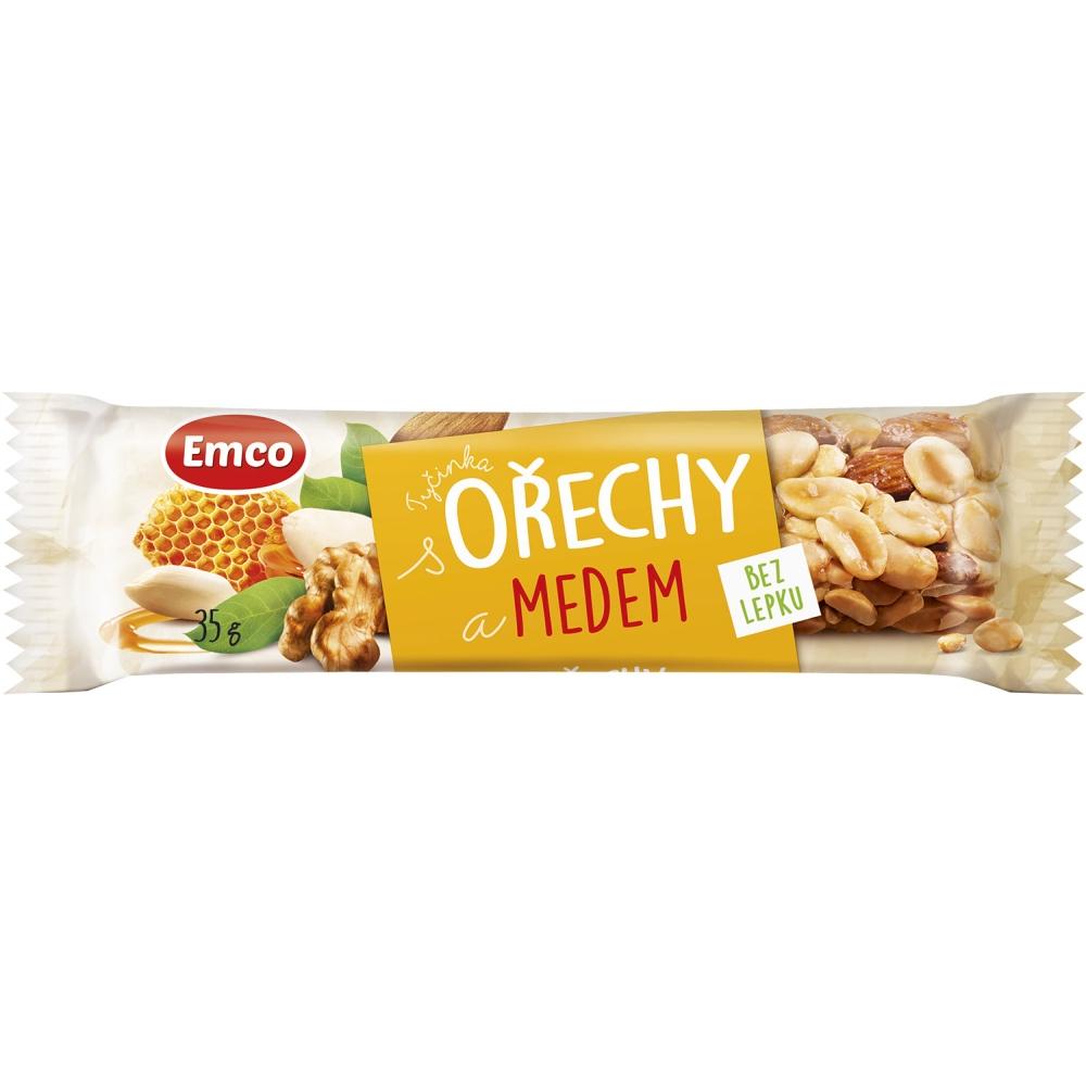EMCO Tyčinka Orechy a med 35 g