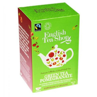English Tea Shop Bio Fairtrade Zelený čaj Granátové jablko 20 s.