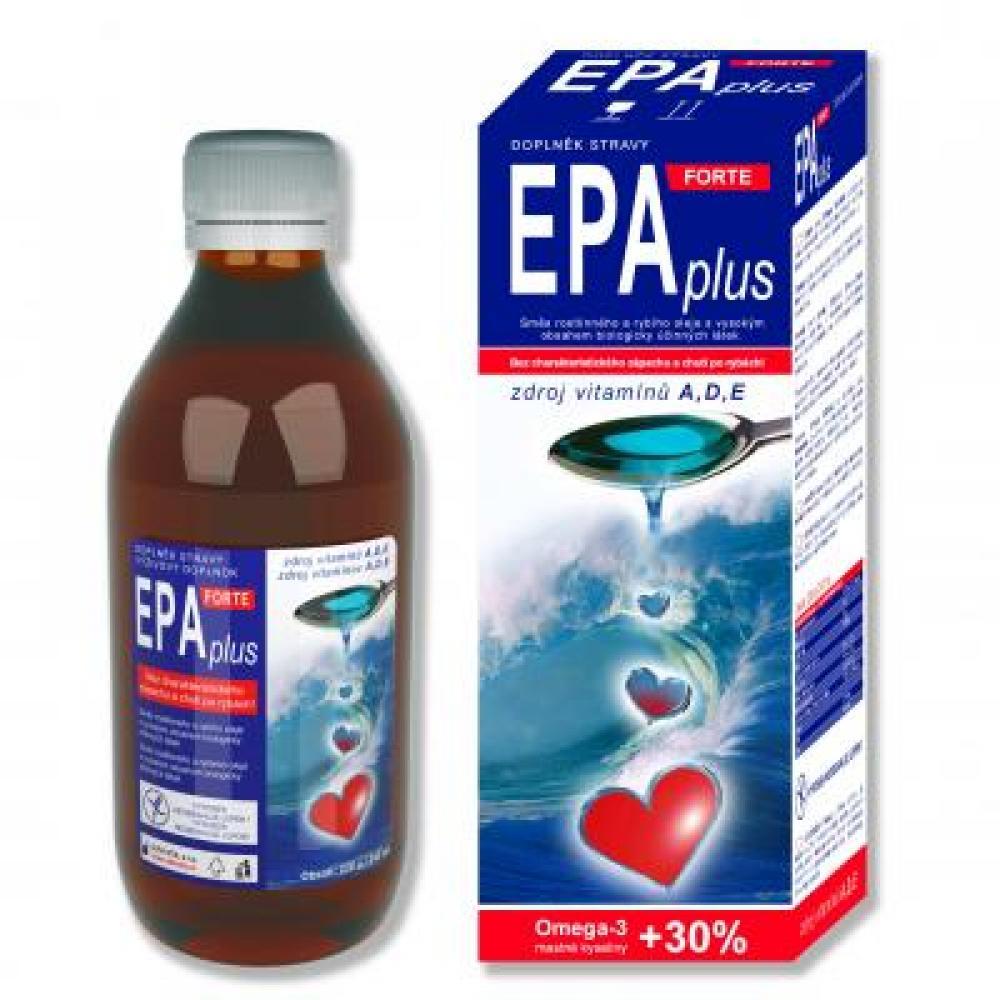 EPAplus Forte Rastlinný a rybí olej 220 g