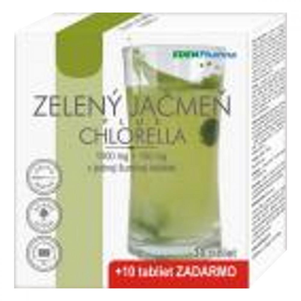 EP Zelený jačmen + Chlorella 40 šumivých tabliet