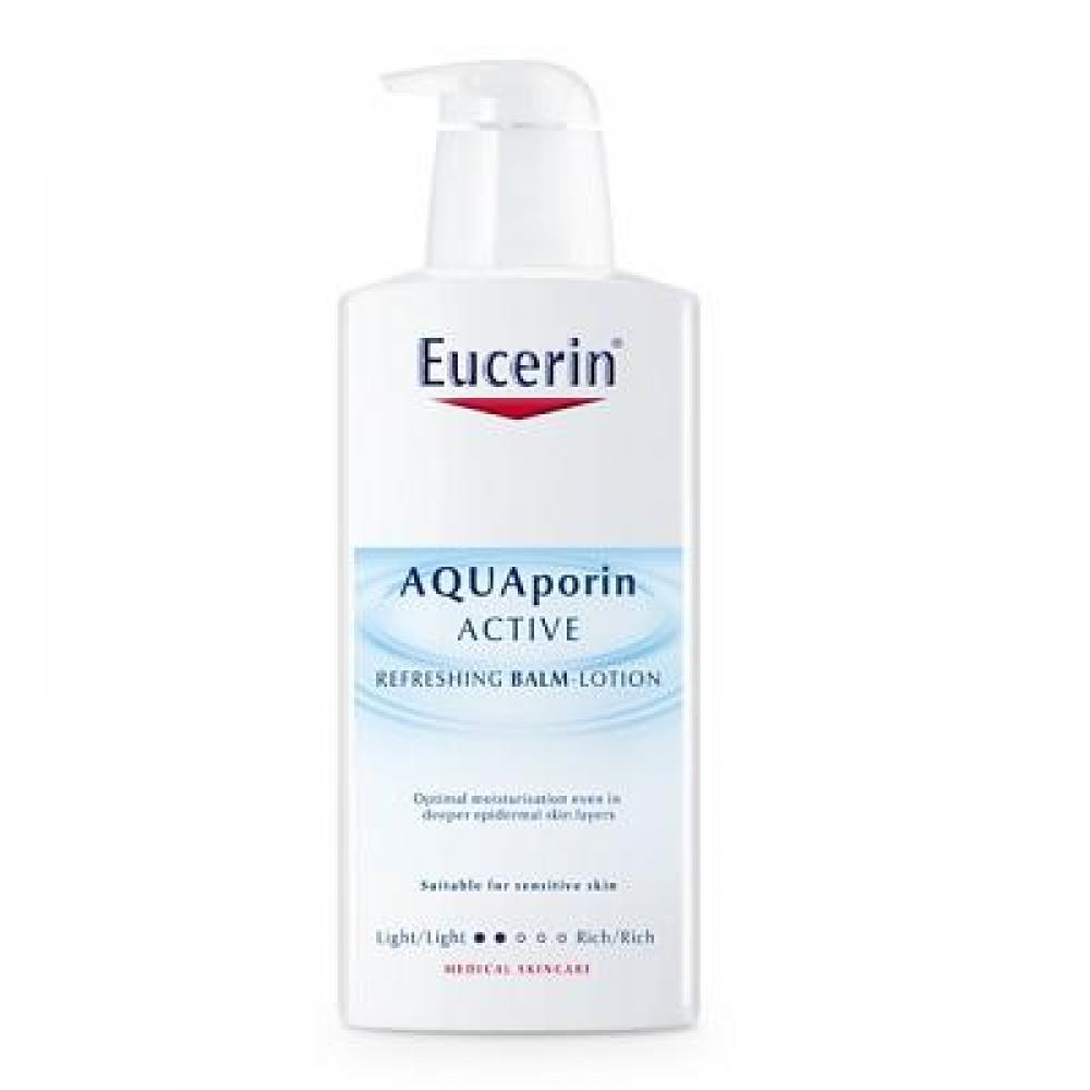 EUCERIN Telové mlieko AQUAporin ACTIVE pre suchú pokožku 400 ml