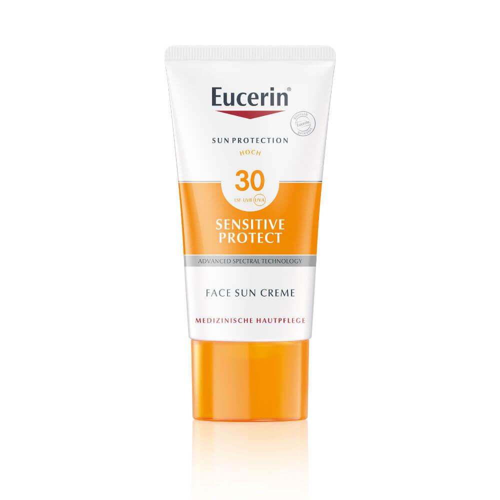 ab90948d2 EUCERIN Sun Vysoko ochranný krém SPF 30 na opaľovanie na tvár 50 ml ...
