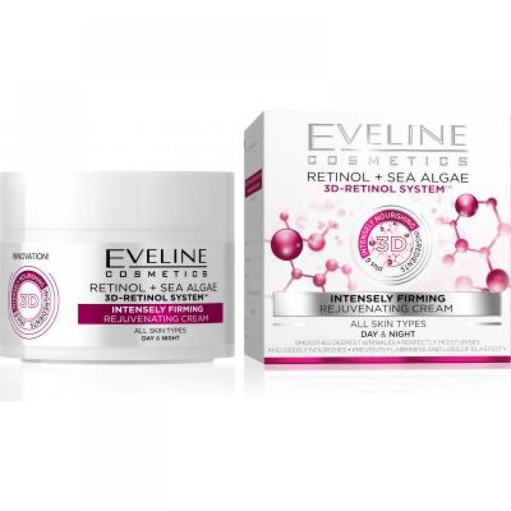 EVELINE Retinol & Morské riasy denný a nočný krém 50 ml