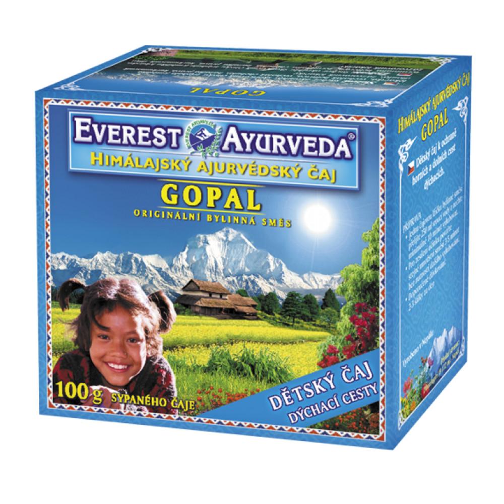 Everest-Ayurveda GOPAL Dýchací cesty 100 g sypaného čaje