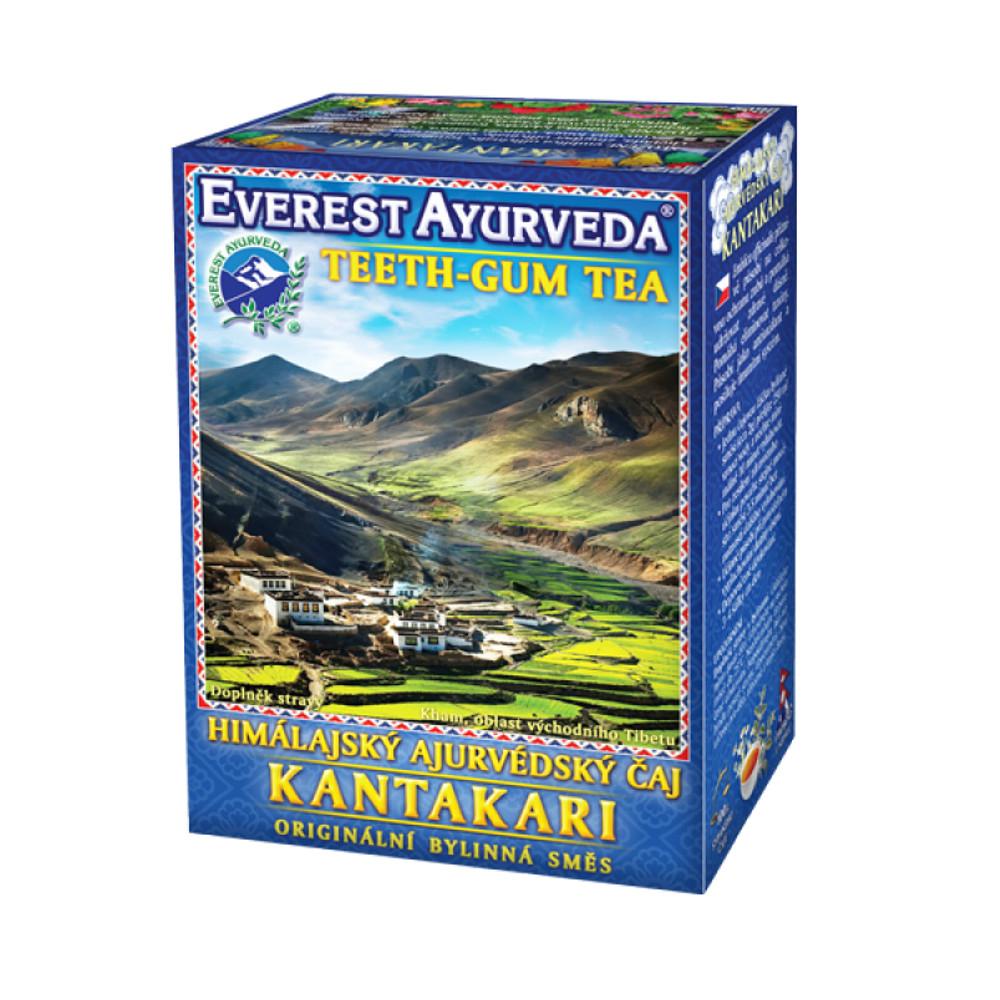 Everest-Ayurveda KANTAKARI Zuby & dásně 100 g sypaného čaje