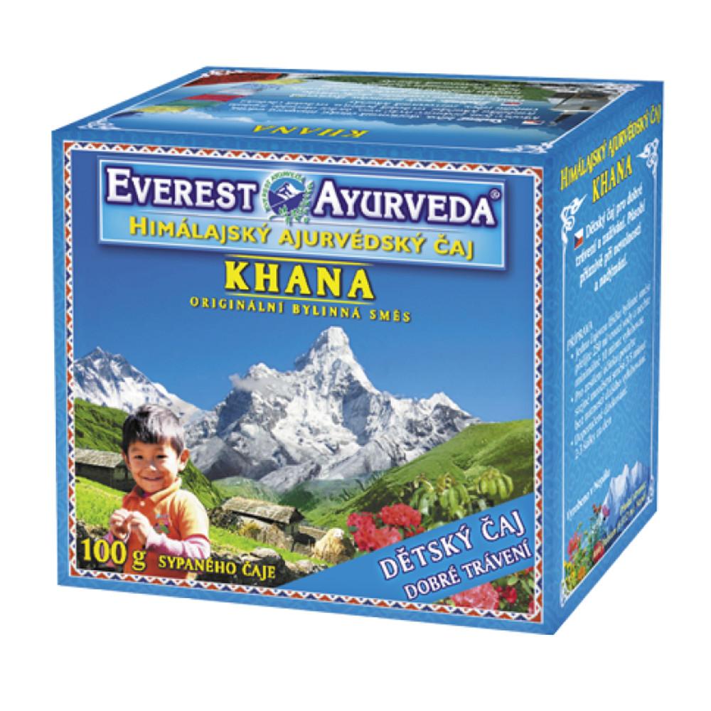 Everest-Ayurveda KHANA Dobré trávení 100 g sypaného čaje