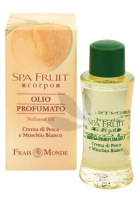 Frais Monde Spa Fruit Peach And White Musk Perfumed Oil parfumovaný olej 10ml