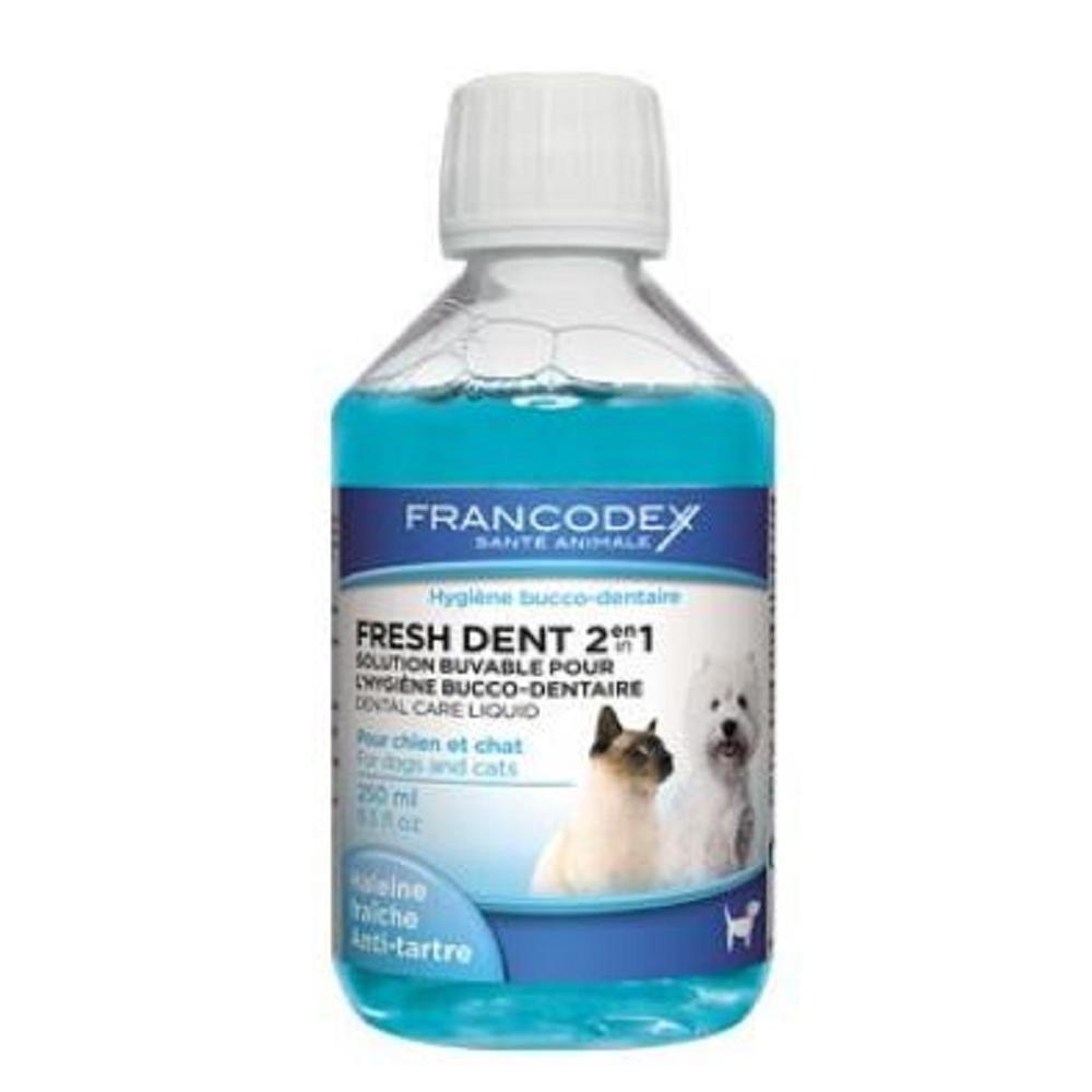 FRANCODEX Fresh Dent pes, mačka 250 ml