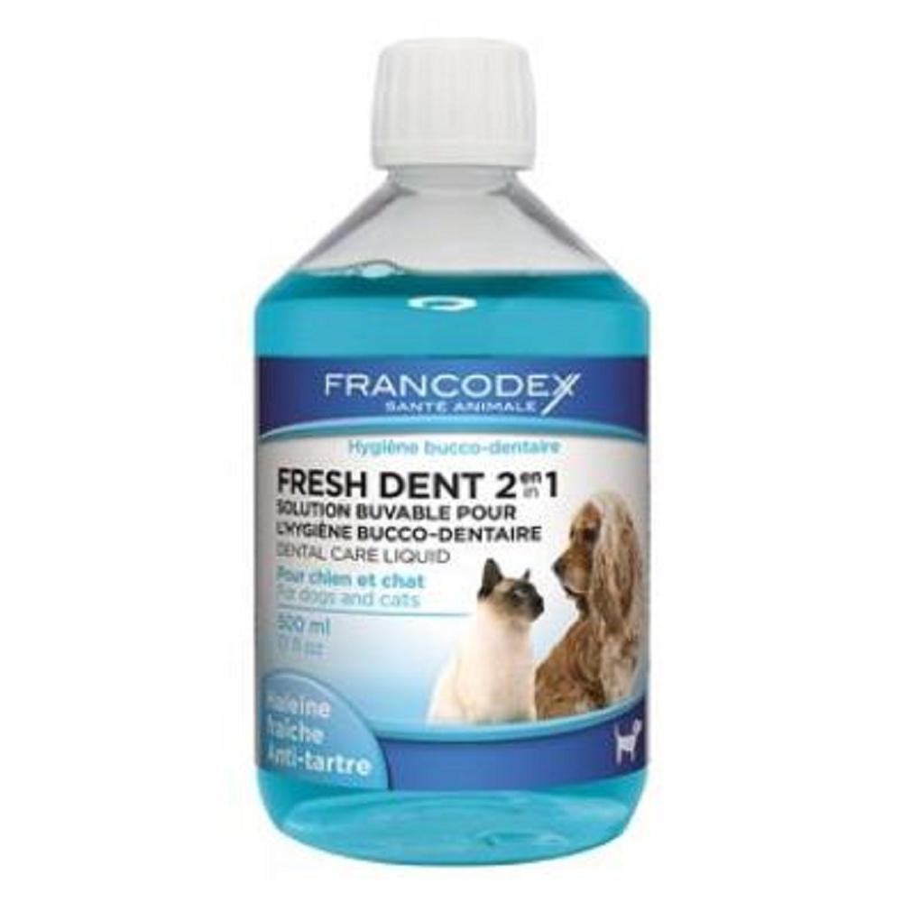 FRANCODEX Fresh Dent pes, mačka 500 ml