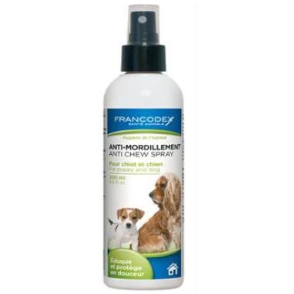 FRANCODEX Sprej proti obhrýzaniu pes, šteňa 200 ml