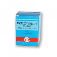 Galvex Magneziové tablety 500 mg 80 tabliet